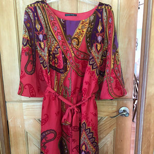Perfectly Pink Summer Date Night Dress 26/28 EUC